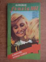 Anticariat: Almanahul intregii familii. Almanah femeia 1983