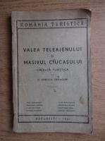 Anticariat: Ionescu Cranguri - Valea Teleajenului si Masivul Ciucasului (1941)