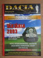 Anticariat: Revista Dacia, nr. 5, iunie 2003