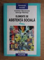 Anticariat: Cristina Bocancea - Elemente de asistenta sociala