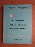 Dorian Georgescu Tamas - Mic dictionar Roman-Francez