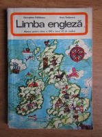 Anticariat: Georgiana Galateanu - Limba engleza, manual pentru clasa a VIII-a (1977)