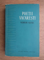 Anticariat: Poetii Vacaresti. Scrieri alese