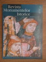 Revista monumentelor istorice. Nr. 1, 2001-2003