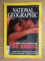Anticariat: Revista National Geographic Romania, Februarie 2006, Chimia care te face sa spui te iubesc