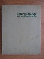 Anticariat: Al. Borza - Dictionar etnobotanic