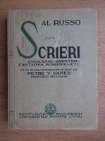 Alexandru Russo - Scrieri (1935)