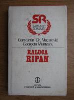 Anticariat: Constantin Gh. Macarovici - Raluca Ripan