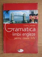 Cristina Johnson - Gramatica limbii engleze pentru clasele I-IV (2003)