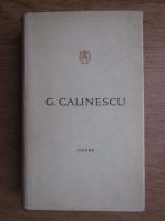 Anticariat: George Calinescu - Opere (volumul 12)