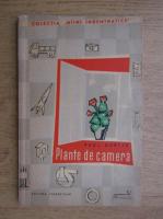 Anticariat: Paul Dabija - Plante de camera