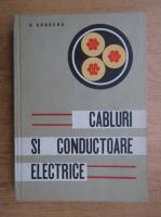 C. Cruceru - Cabluri si conducatoare electrice