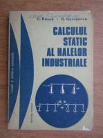 Constantin Rusca, Dragos Georgescu - Calculul static al halelor industriale