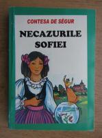 Contesa de Segur - Necazurile Sofiei