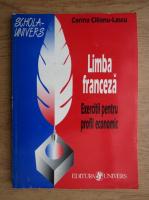 Corina Cilianu Lascu - Limba franceza, exercitii pentru profil economic, 1988