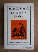Anticariat: Honore de Balzac - Le cousin pons
