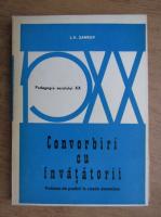 Anticariat: L. V. Zankov - Convorbiri cu invatatorii