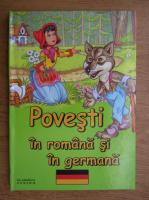 Anticariat: Povesti in romana si germana