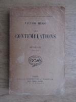 Anticariat: Victor Hugo - Les contemplations. Autrefois (volumul 1, 1920)