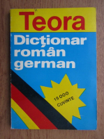 Al. Roman - Dictionar roman-german. 15000 cuvinte