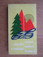 Constantin Stefanescu - Stations balneaires, thermales et climatiques de Roumanie