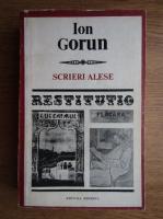 Anticariat: Ion Gorun - Scrieri alese