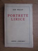 Anticariat: Ion Pillat - Portrete lirice (1930)