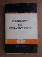 Marin Buca - Probleme de semasiologie