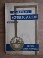 Anticariat: Mihail Sadoveanu - Noptile de sanziene (1934)
