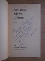 Anticariat: Petre Bucsa - Mereu iubirea (cu autograful autorului)