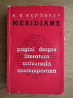 Anticariat: A. E. Baconsky - Meridiane