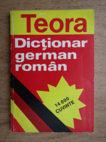 Anticariat: Dictionar german-roman