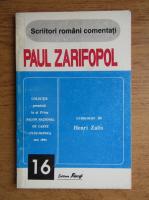 Henri Zalis - Paul Zarifopol