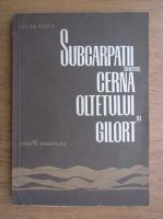 Lucian Badea - Subcarpatii dintre Cerna Otelului si Gilort