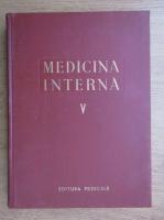 Anticariat: Medicina interna (volumul 5)