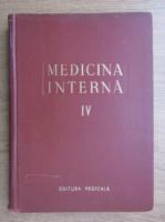 Anticariat: N. Gh. Lupu - Medicina interna (volumul 4)
