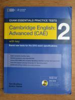 Tom Bradbury - Exam esseintials practice tests. Cambridege english, advanced CAE, with key