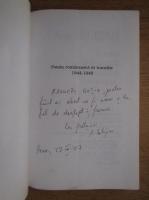 Ana Selejan - Poezia romaneasca in tranzitie 1944-1948 (cu autograful autoarei)