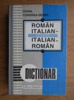 Anticariat: Doina Condrea Derer - Dictionar roman-italian, italian-roman