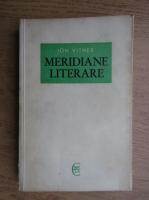 Anticariat: Ion Vitner - Meridiane literare