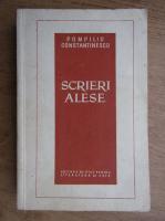 Pompiliu Constantinescu - Scrieri alese