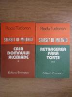Anticariat: Radu Tudoran - Sfarsit de mileniu. Casa Domnului Alcibiade. Retragerea fara torte (2 volume)