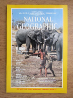 Revista National Geographic, vol. 165, nr. 2, februarie 1984