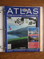 Anticariat: Atlas Intreaga lumea la dispozitia ta. Marea Britanie, nr. 7