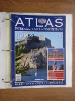 Anticariat: Atlas Intreaga lumea la dispozitia ta. Rodos, nr. 75