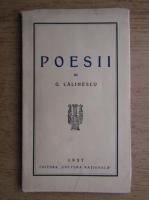 Anticariat: George Calinescu - Poesii (1937)