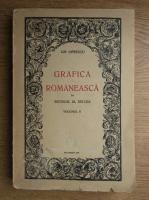Anticariat: Gheorghe Oprescu - Grafica romaneasca in secolul al XIX-lea (volumul 2, 1945))