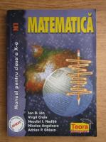 Ion D. Ion - Matematica. Manual pentru clasa a X-a, M1 (2001)