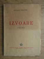 Anticariat: Iulian Vesper - Izvoare (1942)
