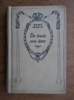 Anticariat: Rene Bazin - De toute sone ame (1935)
